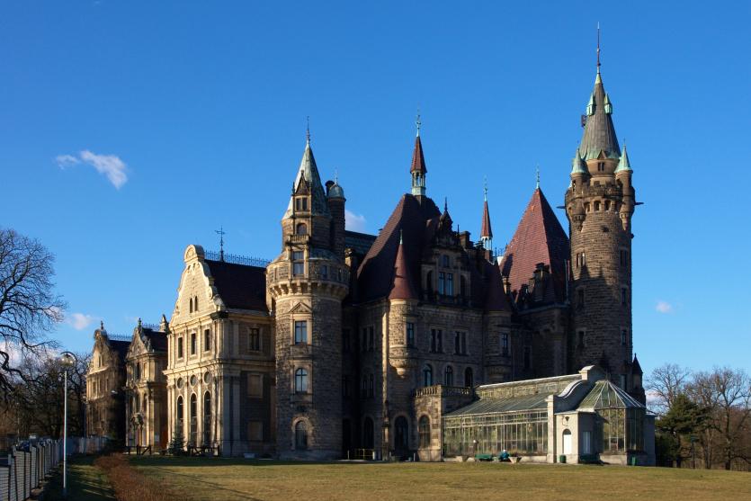 pałac Moszna