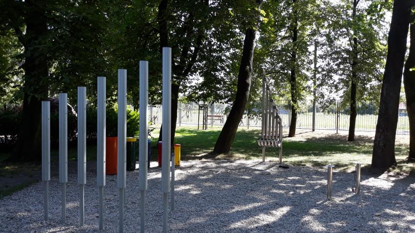 Park Bajka_strefa instrumentów