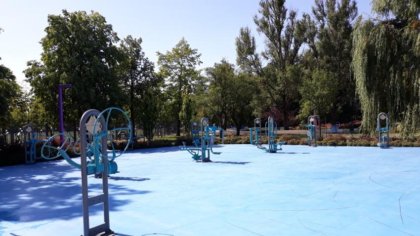 Park Bajka_siłownia