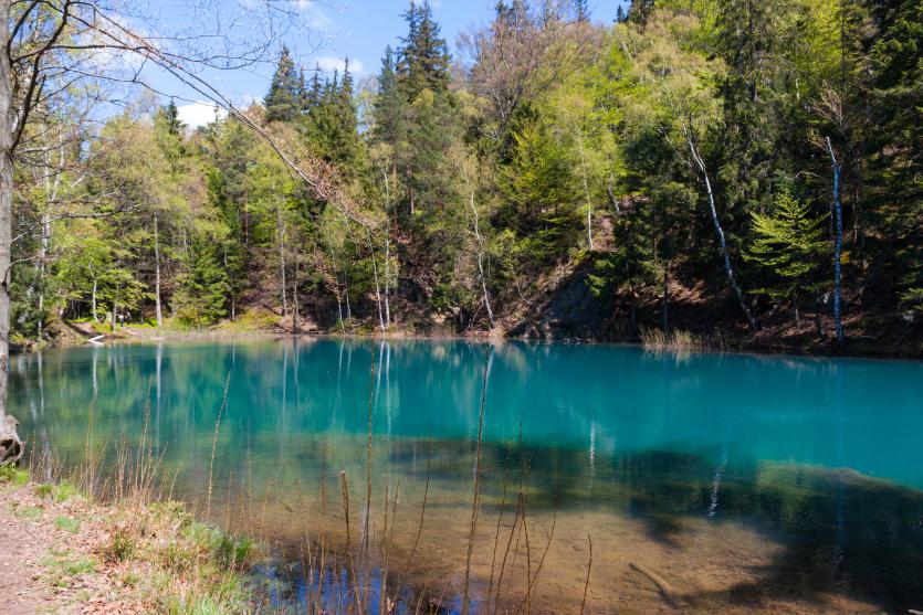 Kolorowe Jeziorka - Jeziorko Błękitne
