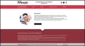 Wykonana strona internetowa, Bat in Web Maciej Szałkowski, Białystok