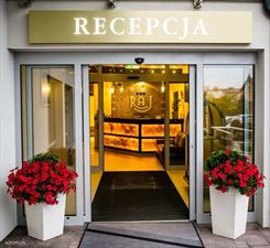 recepcja pensjonatu SPA, Raj Hotel SPA Pensjonat Nad Jeziorem, Rajgród