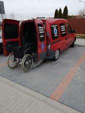 pojazd dla osób niepełnosprawnych, Prywatne pogotowie medyczne Józef Łoniewski, Suwałki