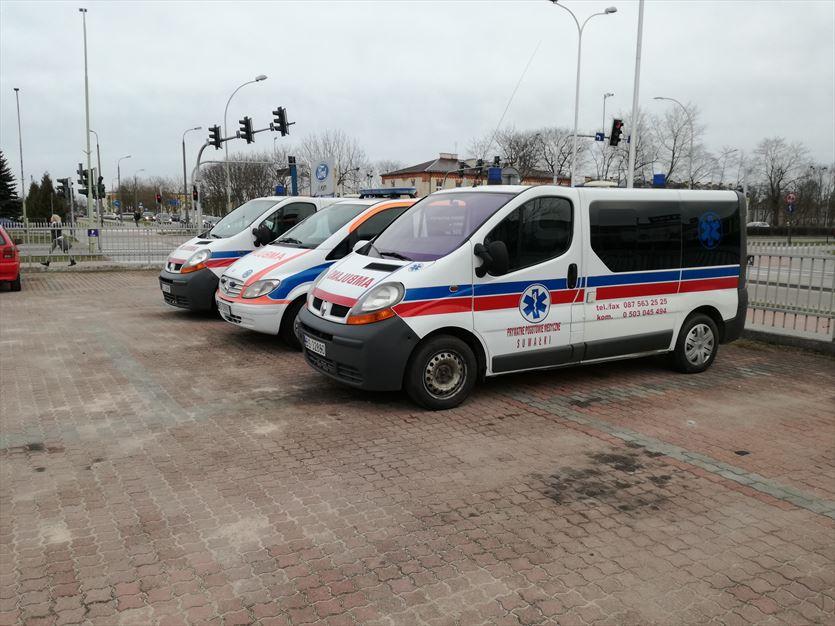 Transport chorych po kraju, Prywatne pogotowie medyczne Józef Łoniewski, Suwałki