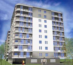 projekt apartamentowca, Euro-Projekt architekt Tomasz Jacyniewicz, Białystok