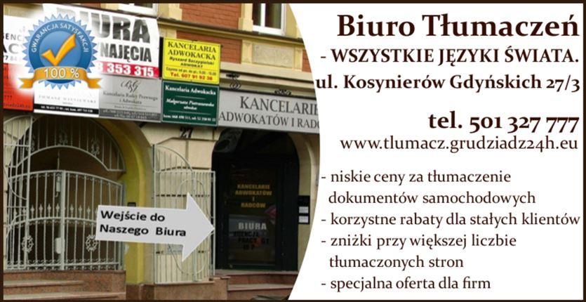 Twoje biuro tłumaczeń online, Protlumaczenia.pl s.c., Grudziądz