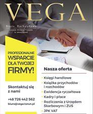 usługi rachunkowe, Biuro Rachunkowe VEGA Anna Dunajska, Toruń
