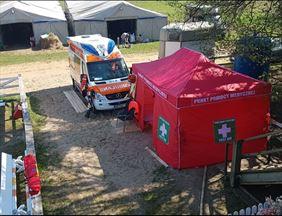 Zabezpieczenie medyczne, Prywatny Transport Medyczny Nona-Med Piotr Płodzik, Kurowo