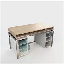 biurko z regulacją Indoo, Piotr Krzyżan W Punkt - design studio, Wiele