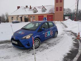 jazda zimą, Elka Ośrodek Szkolenia Kierowców Krzysztof Osmański, Kowalewo Pomorskie