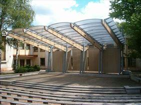 amfiteatr, Koma Przedsiębiorstwo Projektowo Wykonawcze Budownictwa i Instalacji, Toruń