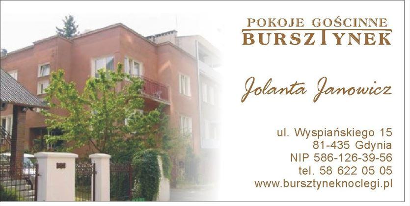 Komfortowe pokoje gościnne nad morzem, Jolanta Janowicz Bursztynek, Gdynia
