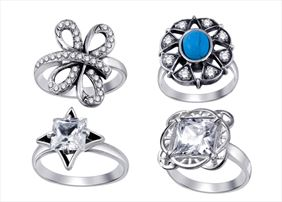 pierścionki srebrne, Agat Jubiler, Wejherowo
