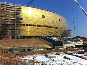 budowa stanu surowego stadionu piłkarskiego PGE Arena w Gdańsku, Budmar Firma Ogólnobudowlana Marek Modrzewski, Gdańsk