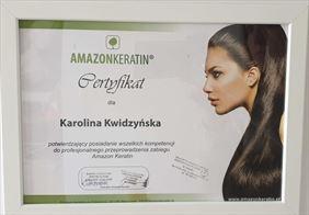certyfikat 1, Frisor Karolina Kwidzińska, Gowino