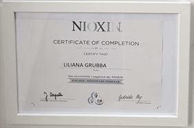 certyfikat 2, Frisor Karolina Kwidzińska, Gowino