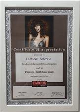 certyfikat 3, Frisor Karolina Kwidzińska, Gowino