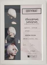 certyfikat 5, Frisor Karolina Kwidzińska, Gowino