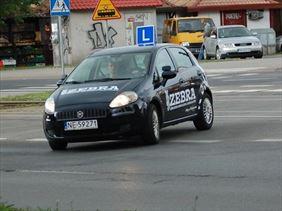 plac manewrowy, Zebra nauka jazdy, Elbląg