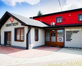 klinika stomatologiczna, Dentica Centrum stomatologii estetycznej i Implantologii, Zawiercie