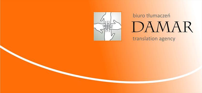 Kompleksowa obsługa tłumaczeniowa firm przemysłowych, Damar Translation Studio Sp. z o.o., Sosnowiec