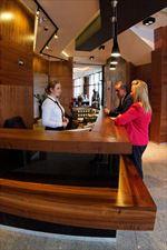 recepcja, Hotel Modus *** & Restauracja, Łaziska Górne