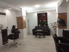 salon od wewnątrz, Salon Fryzjerski Bella Marianna Błaszczyńska, Katowice