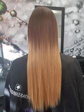 keratynowe prostowanie włosów, Centrum Kosmetyczne Limonka & Salon Fryzjerski, Tychy