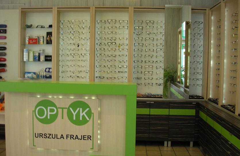 Renomowany salon optyczny, Urszula Frajer- Danisch Zakład Optyczny, Chorzów