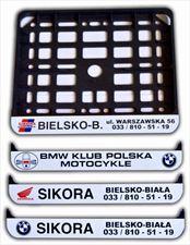ramki motocyklowe, Madox Nadruki na ramki pod tablice rejestracyjne sitodruk, Cieszyn