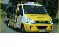 Truck-Service Sikora Pomoc drogowa, Holowanie pojazdów osobowych, ciężarowych i maszyn