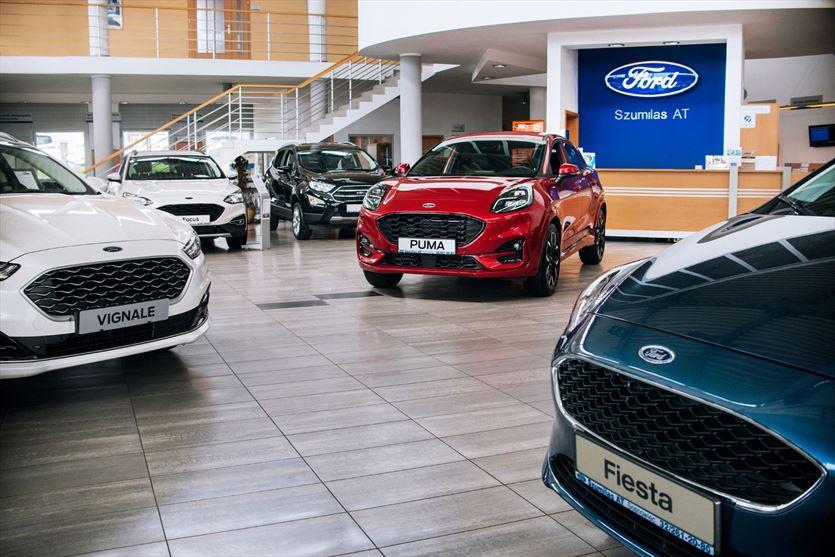 Salon sprzedaży, ASO i sklep z częściami marki Ford, Szumilas AT Autoryzowany dealer, salon i serwis Forda, Sosnowiec