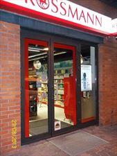 drzwi do sklepu, Geo-Mont, Szczucin