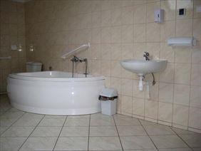 przystosowane łazienki, Ośrodek Opiekuńczy Barbara, Wielka Wieś