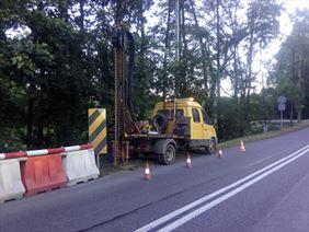 wiercenie na drodze, KoGeo Usługi Geologiczne Konrad Tucharz, Sąspów