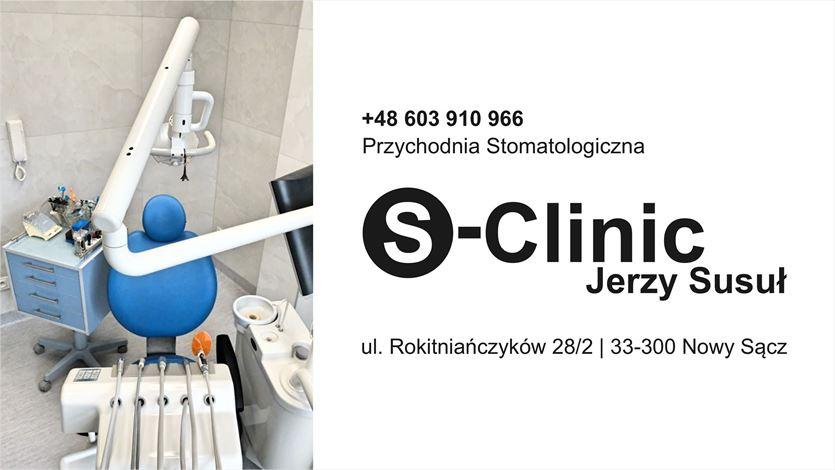 Kompleksowa opieka stomatologiczna, S-Clinic Jerzy Susuł, Nowy Sącz