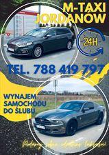 ulotka reklamowa, M-Taxi Mariusz Wontorczyk, Jordanów