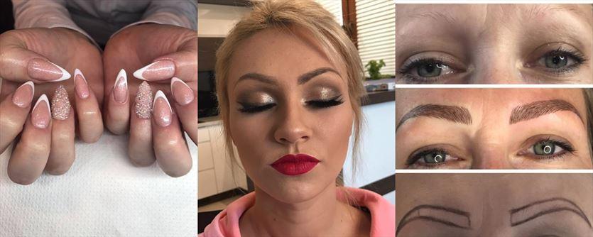 Makijaż permanentny, stylizacja paznokci, usługi fryzjerskie, Fabryka Piękna Joanna Duda-Balcar, Tarnów