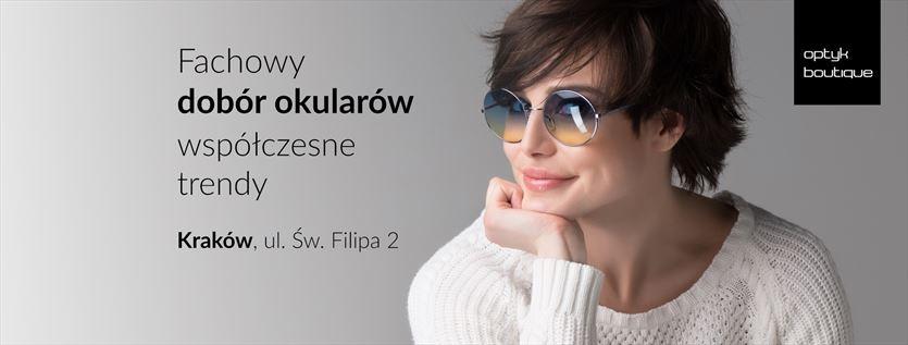 Okulary dla całej rodziny, Optyk Boutique Przemysław Czarny, Kraków
