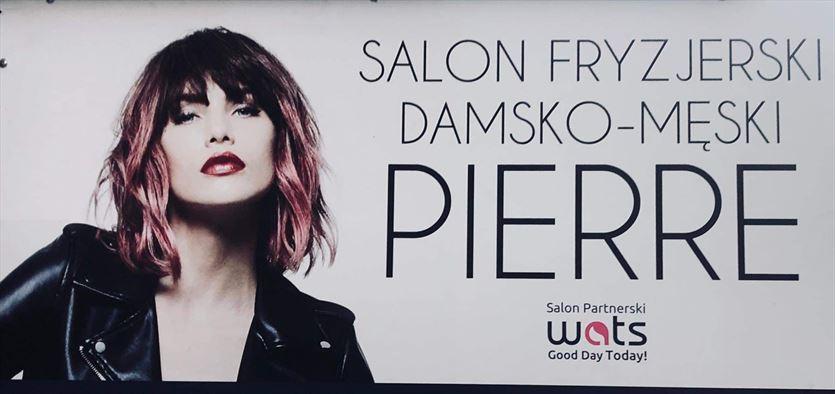 Salon fryzjersko-kosmetyczny dla kobiet i mężczyzn, Pierre Salon fryzjersko-kosmetyczny, Kraków