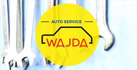 logo, Auto Service Amortyzatory Wajda, Kraków