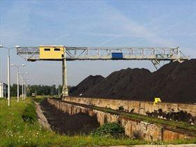 zabezpieczenie kratowanego mostu, Emka P.B.P.Kominy przemysłowe, budownictwo energetyczne, Luborzyca