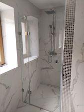 kabina prysznicowa, Szkłomania Szklarskie Usługi, Myślenice