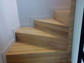 schody z drewna, Ica-Parkiet Krzysztof Ratka, Łódź
