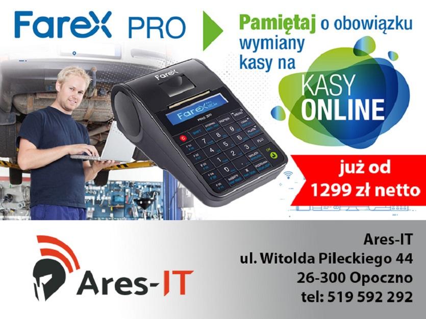 Serwis komputerowy oraz sprzedaż kas fiskalnych, Ares-It, Opoczno