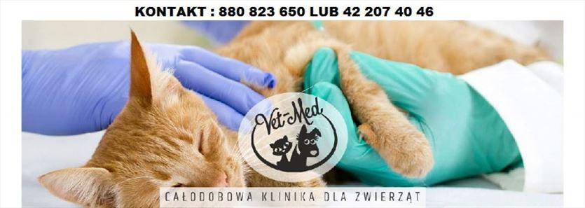 Otaczamy zwierzęta najlepszą opieką, Vet-Med Całodobowa Klinika Dla Zwierząt Daria Jagielska, Łódź
