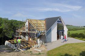 budowa domu, Nover Design Norbert Jankowski, Cielądz