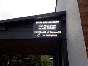 reklama firmy, Alicja Bajer, Łódź