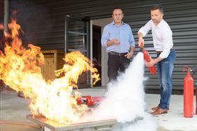 szkolenia przeciwpożarowe, Safe Work Firma konsultingowa Leszek Walasiński, Łódź