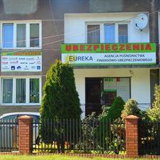 budynek agencji Eureka, Eureka Agencja pośrednictwa finansowo-ubezpieczeniowego, Parczew